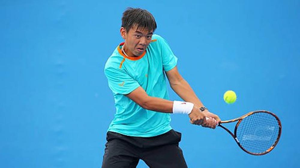 Lý Hoàng Nam vào tứ kết Giải quần vợt nhà nghề Ấn Độ F3 Futures